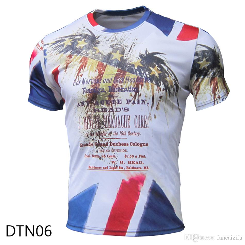 Shirt design images 2017 - 2017 Brand New Fashion Funny Men S Short Sleeve T Shirt 100 Polyester Lattice Dot Pattern Design Printed Summer Cool Top Tees Breathable