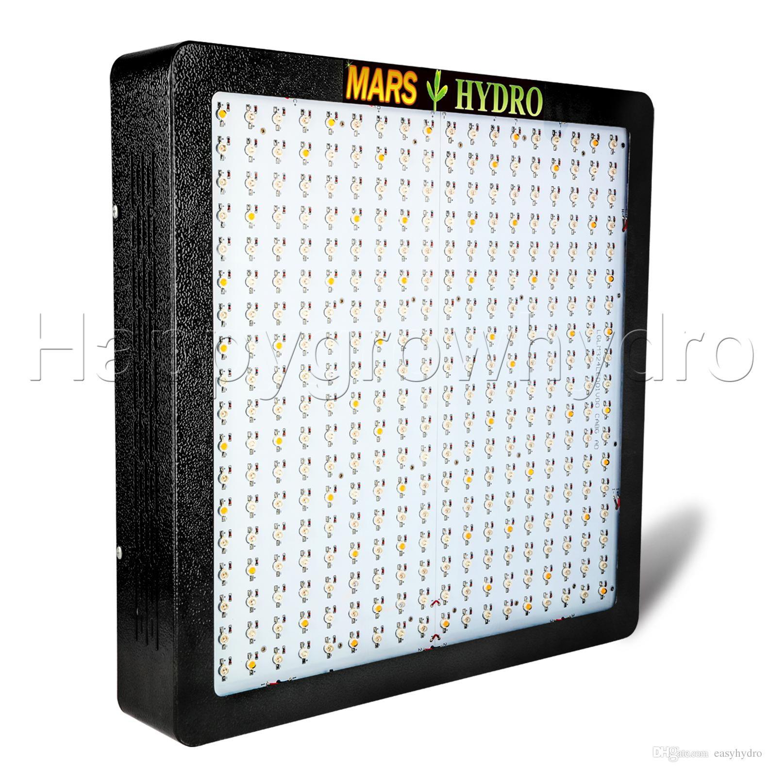 MarsHydro 1600W LED Grow Light et GrowBloom Switches Full Spectrum Panel pour la