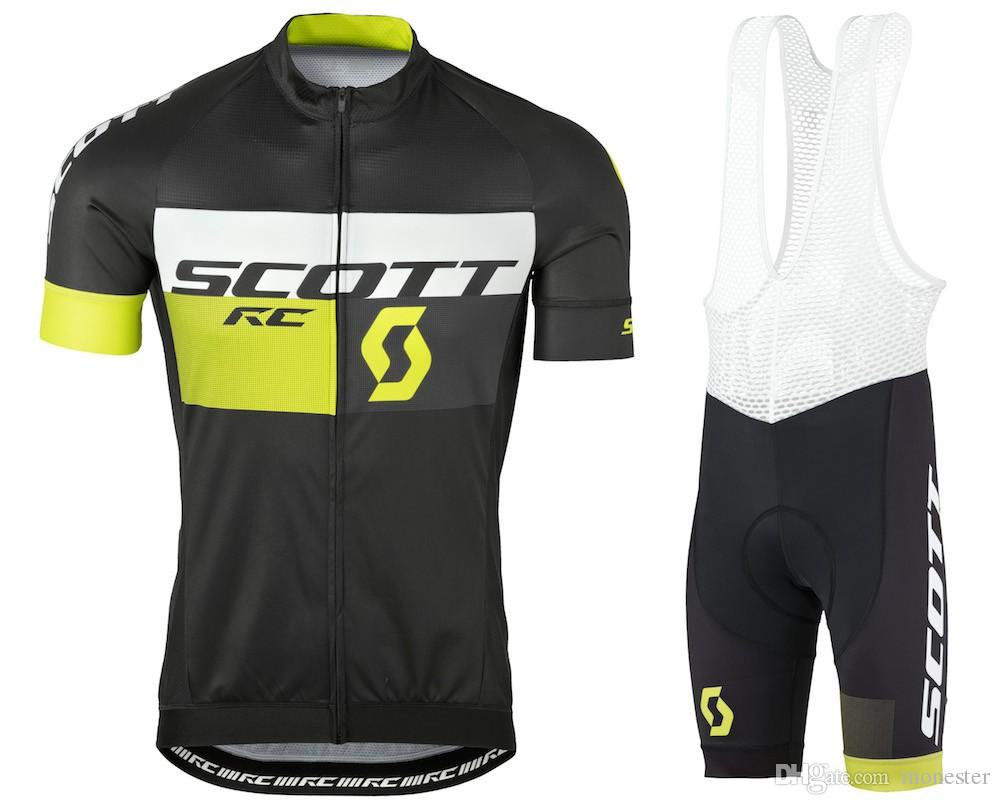 2016 Scott RC Summer Cycling Jerseys Ropa Ciclismo / Breathable Bike Clothing /