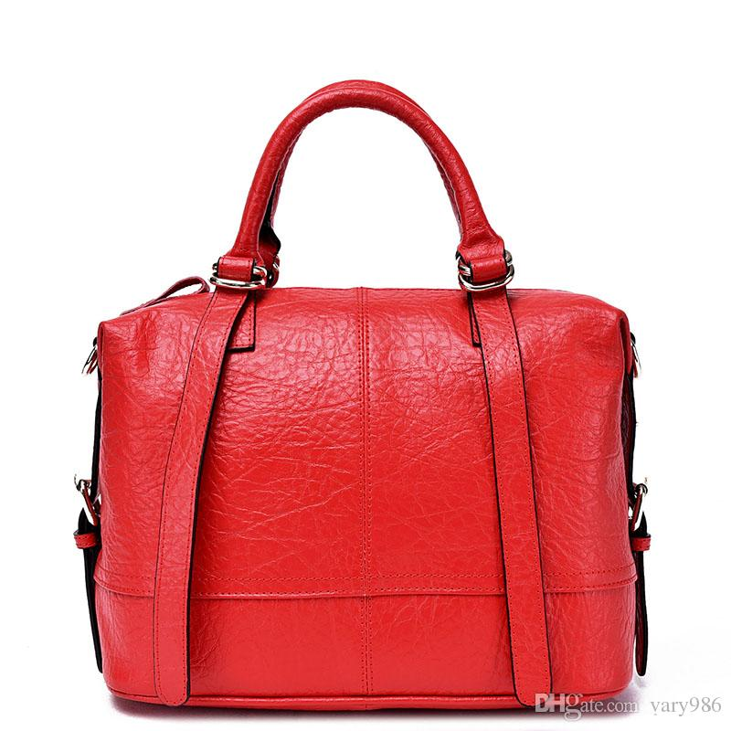 Genuine Leather Luxury Women Handbags Embossed Animal Print Real ...