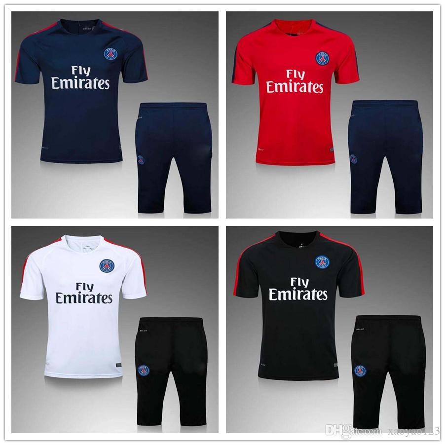 Thaïlande Paris Maillot de foot survêtements de survêtement chemises de football