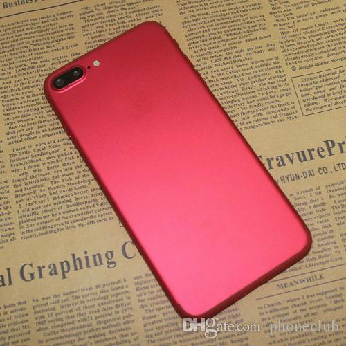 Nouveau Red Goophone i7 Plus Quad Core MTK6580 Android 6.0 1 Go RAM 128 Go 256 G