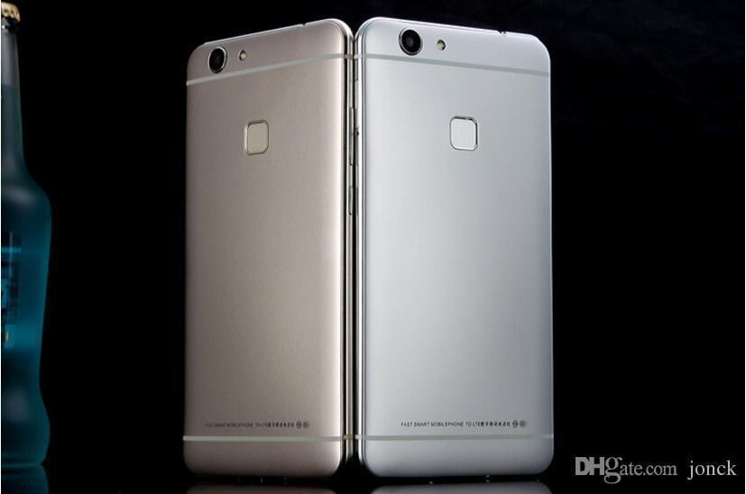 goophone s7 5.5 inch edge lte logo edgephone smartphones unlocked mtk6592 new cell phones 7 tablet