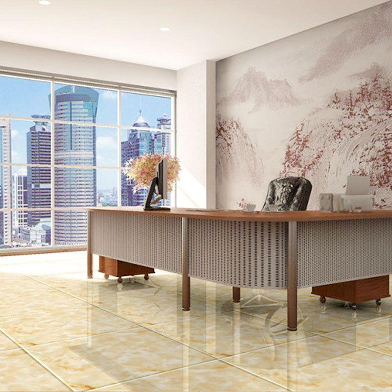 Ceramic Tile Living Room Bedroom Indoor Floor 300 600mm Non Slip Imitation Stone Texture Diamond Modern Simple Style