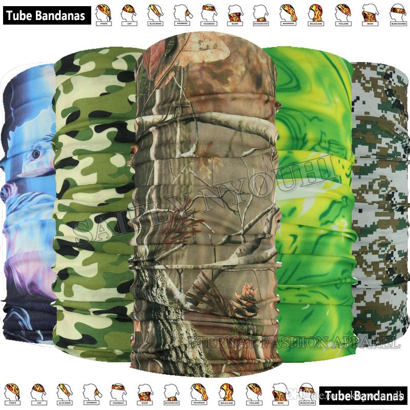 1pc / lot Mode Divers Camo Underwood Style Microfibre Mode Magique Bandana Outdo