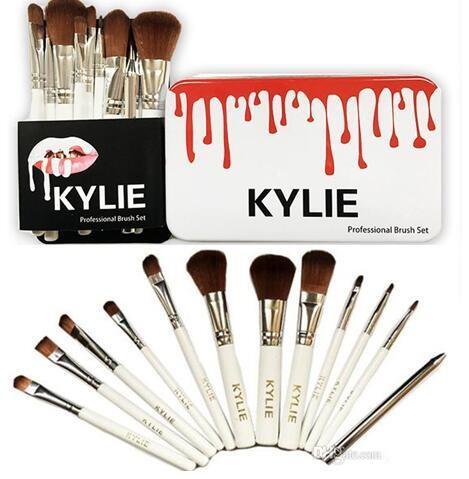 2017 new kylie makeup brushes set professional brush