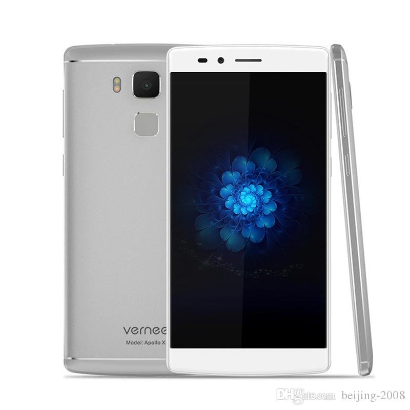 Original Vernee Apollo X 5.5inch mtk6797 Deca Core 4G / 64 Go 13.0MP Appareil ph