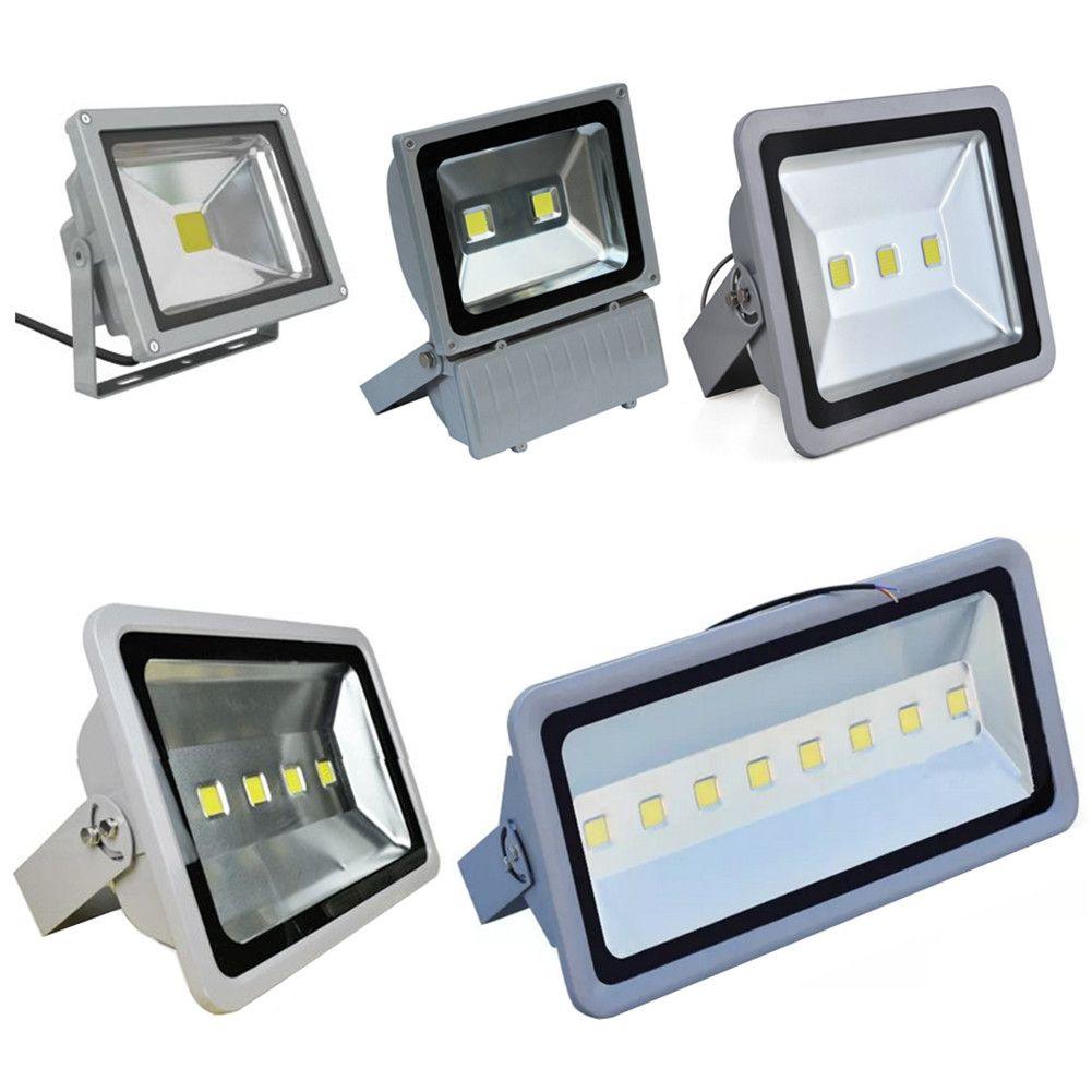 Free Shipping Led Floodlights Waterproof 100W 150W 200W 250W 300W 400W Led Outdoor Flood Lights Led Landscape Lamp AC 85-265V free shipping