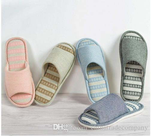 Womens Mens Striped Soft Bedroom Slippers Indoor Shoes House Slipper Boots On Sale Birkenstock