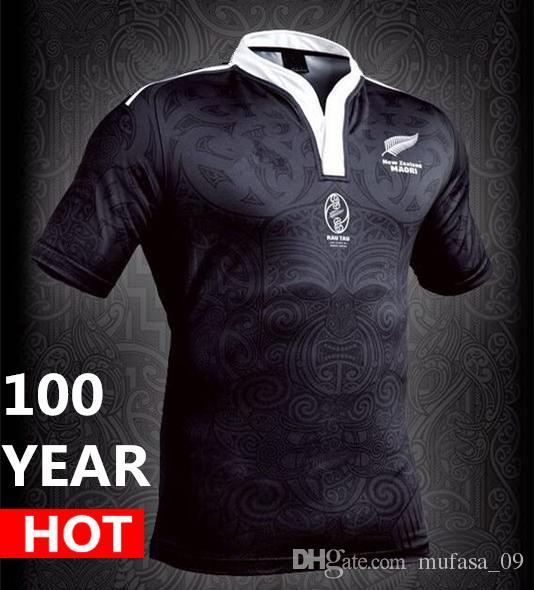 Maori All Blacks Jersey 100 Year Anniversary Commemorative Edition ...