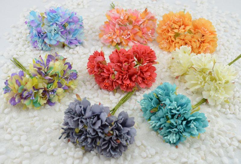 how to make artificial carnation flowers