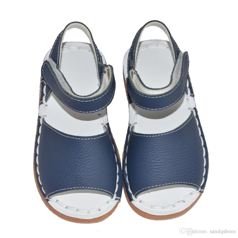 Girls sandals - Girls Sandals 2017 Summer Shoes Genuine Leather Pu For Muslims Simple But Fashion Handsewn Upper White