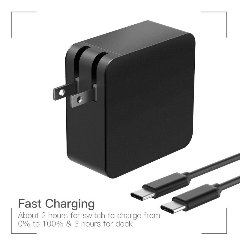 2018 Pd 65w Usb C Type C Charger Power Adapter Laptop Ac