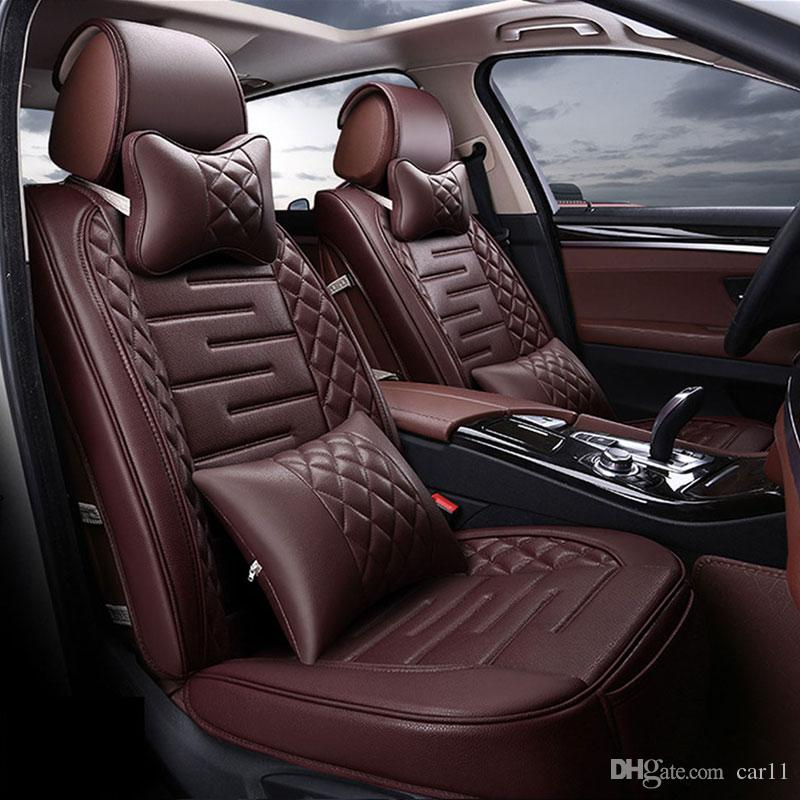new pu leather auto universal car seat covers automotive seat covers for toyota honda volkswagen. Black Bedroom Furniture Sets. Home Design Ideas