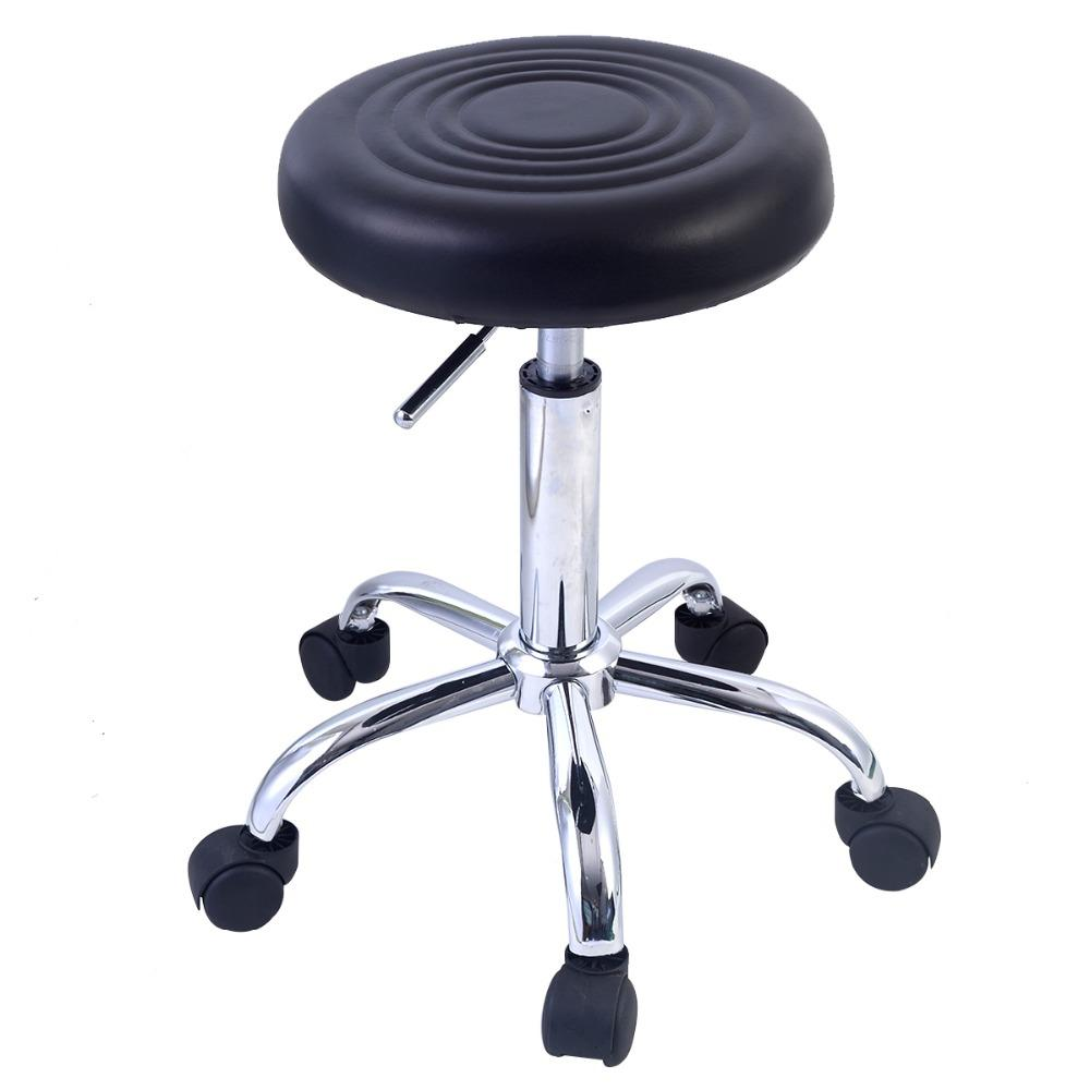 Factory Adjustable Round Bar Stool