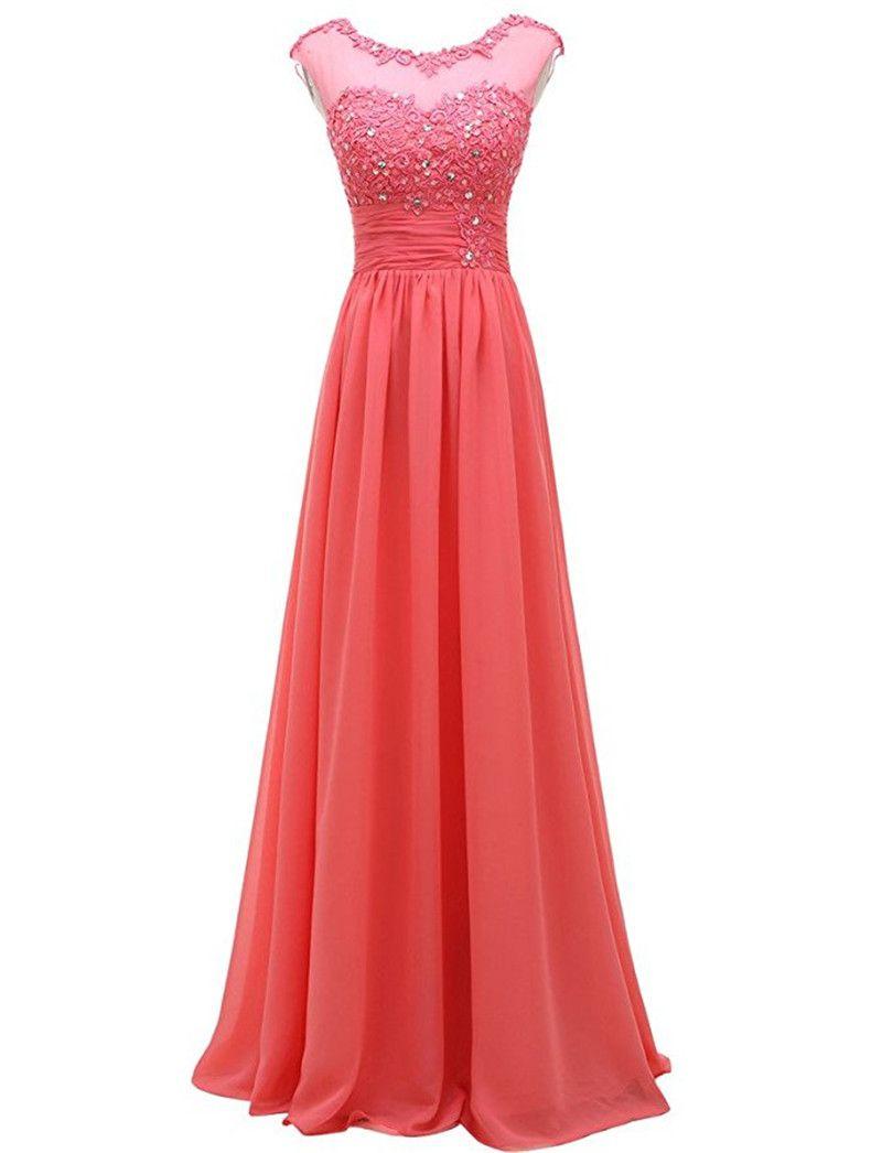 Evening Dresses Patterns 2017 Vestidos De Pedreria Simple