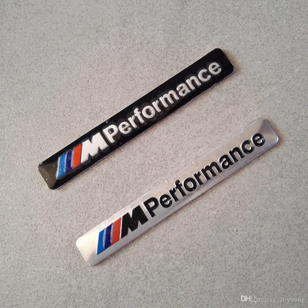 2017 m performance car logo hood decal sticker emblem for