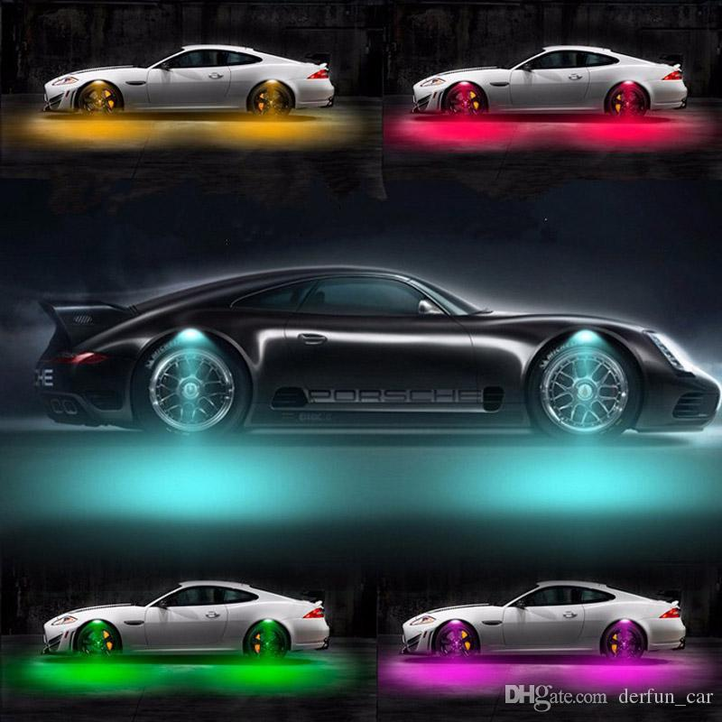 2017 Newest 8w Car Exterior Lights Wheel Led Light
