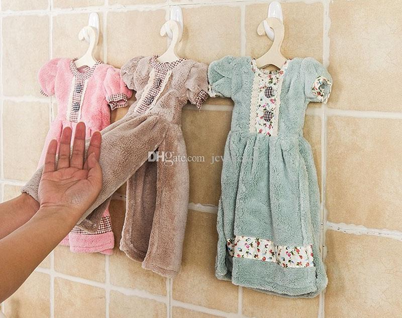 Discount Hanging Kitchen Hand Drying Towel | 2017 Hanging Kitchen ...