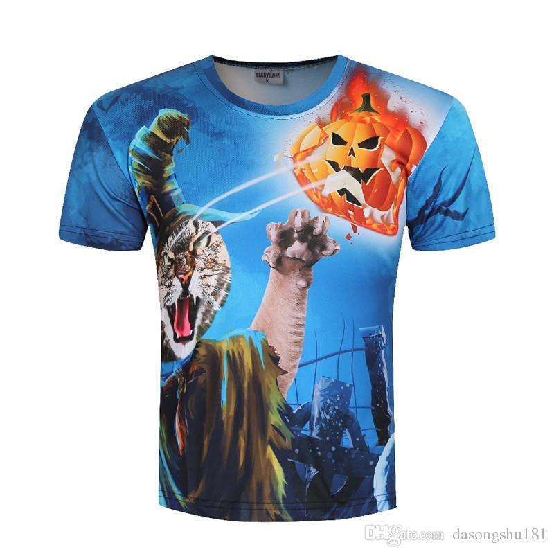 2017 summer 3d 3d digital printed t shirt men 39 s short for Digital printed t shirts