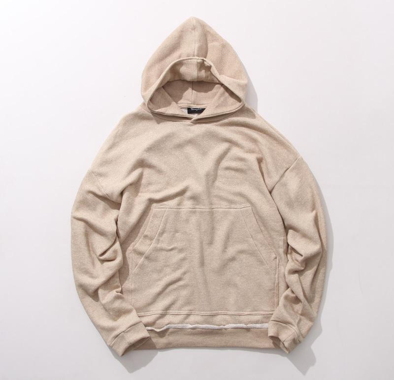 2017 Wholesale Streetwear Khaki Beige Kanye Men Hoodies Pullover ...