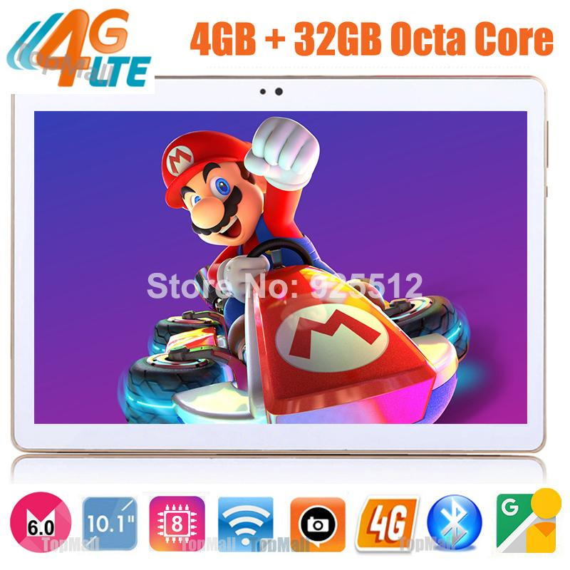 Wholesale- 2017 Android 6,0 ​​Tablette GPS Tablette 10 pouces Octa Core 4G LTE A