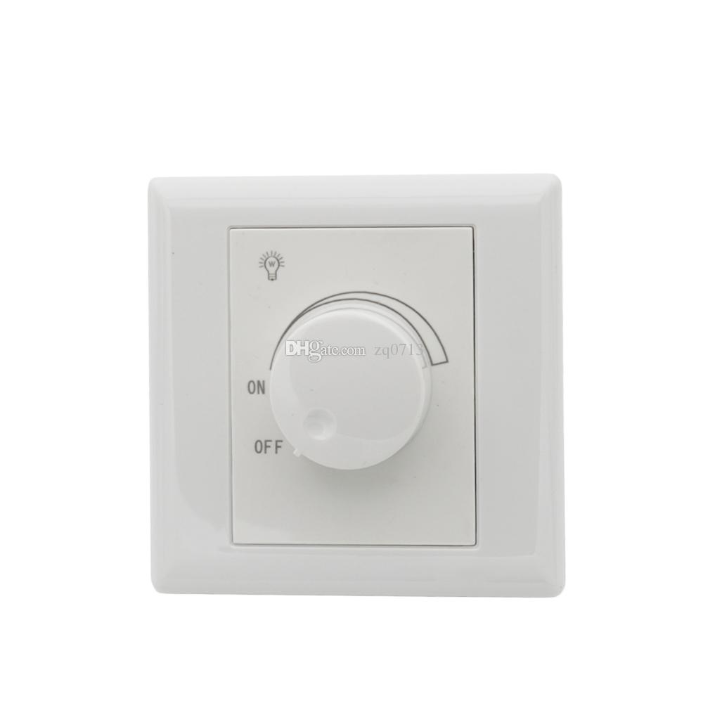 scr led dimmer switch adjustable controller led dimmer switch ac 220v 630w for dimmable panel light downlight spotlight dimmable driver switch led dimmable