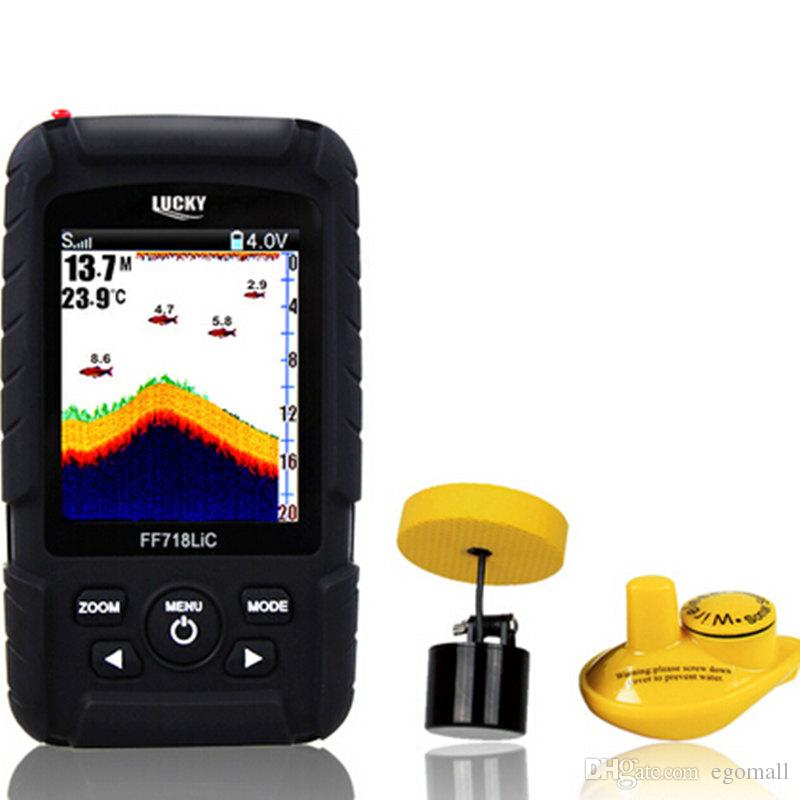 hot sale fish finder real waterproof monitor 2 in 1 wireless sonar, Fish Finder