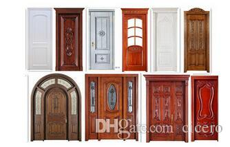 2017 wood material interior door solid door building door for Solid wood door construction