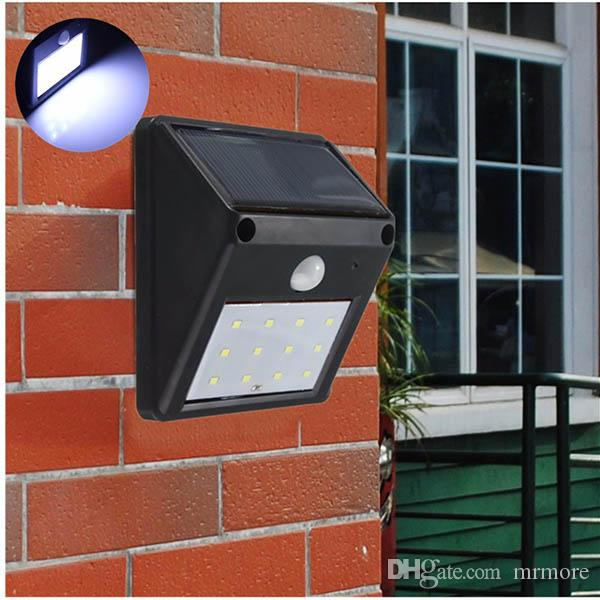 12 LED Outdoor Solar Light Powered Waterproof IP65 sans fil PIR capteur de mouve