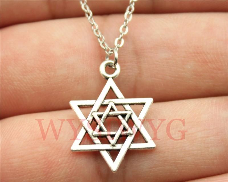 Wholesale wholesale wysiwyg simple vintage antique bronze for Star of david jewelry wholesale