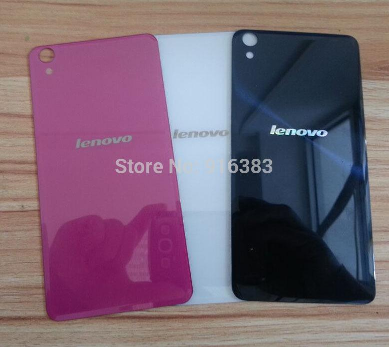 -Brand New S850 Back Glass Cover Lenovo S850T Battery Rear Door Housing + Sticker Replacement Spare Parts