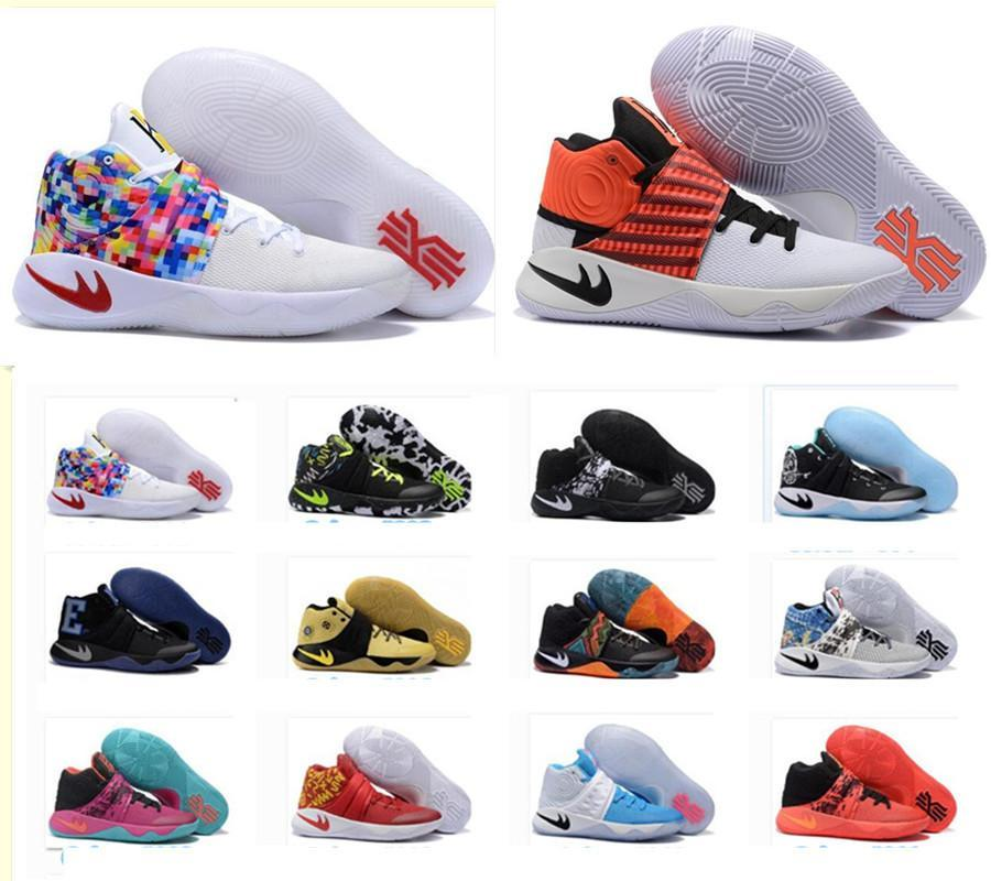 2015 Kyrie Irving Basketball Shoes Kyrie 1 Dream Deceptive Red Top ...