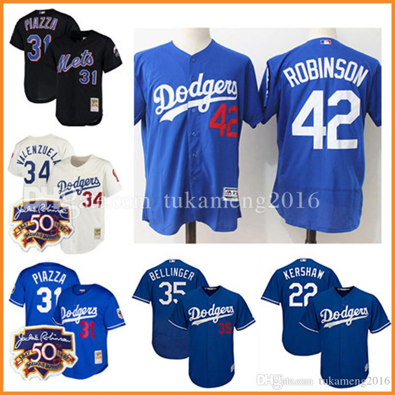 Los Angeles Dodgers 22 Clayton Kershaw 35 Cody Bellinger 42 Jackie Robinson Mail