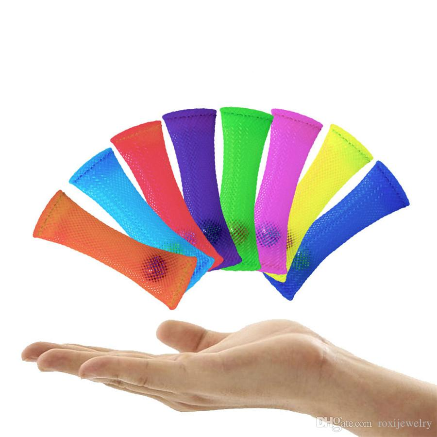 Toys To Relieve Stress Stress : Mixed color fidget toy sensory fidgets help with autism