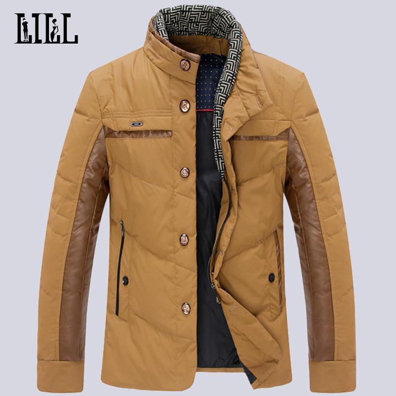 Wholesale- Hi-Q Fashionable Men's Winter White Duck Down Jacket ...