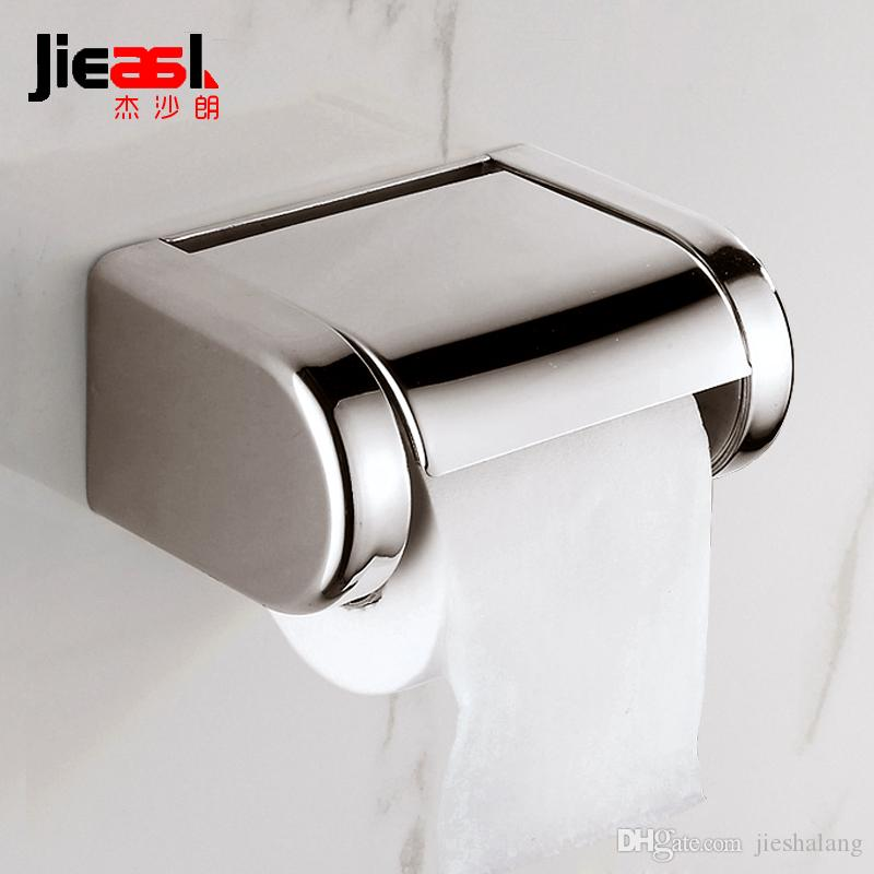 Stainless Steel Paper Holder Roll Tissue Holder Wall Mounted For Bathroom  Toilet Roll Paper Tissue Holder. 2017 Stainless Steel Paper Holder Roll Tissue Holder Wall Mounted