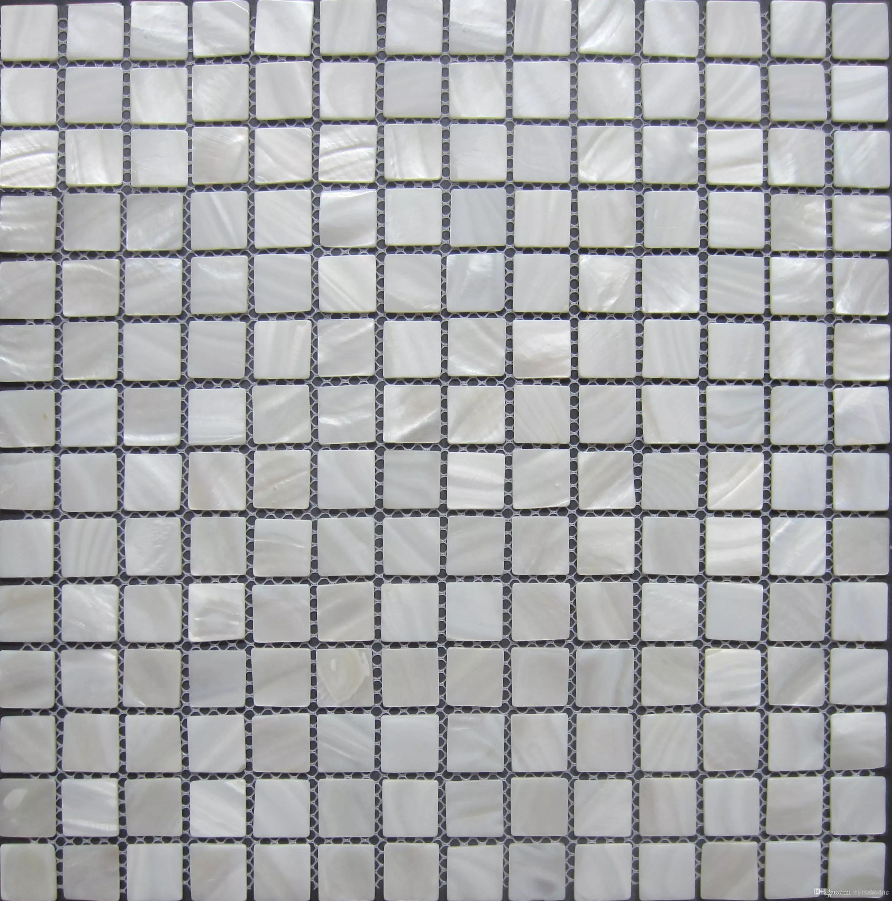 White Pearl Backsplash Part - 36: Lustre Mosaico Wall Tiles; Pure White Mother Of Pearl Shell Mosaic Tiles;  Kitchen Backsplash Tiles ;bathroom Mirror Tile Shell Mosaic Pure White  Mother Of ...