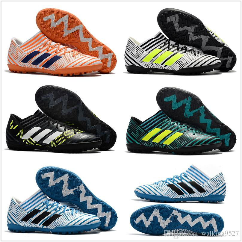 Factory Outle HOT 2017 Mens Adidas Nemeziz Tango 17.3 TF Cheap Indoor Soccer  Shoes Football Boots Low Men Soccer Cleats Yeezy Boost V2 Adidas Nmd  Running ...