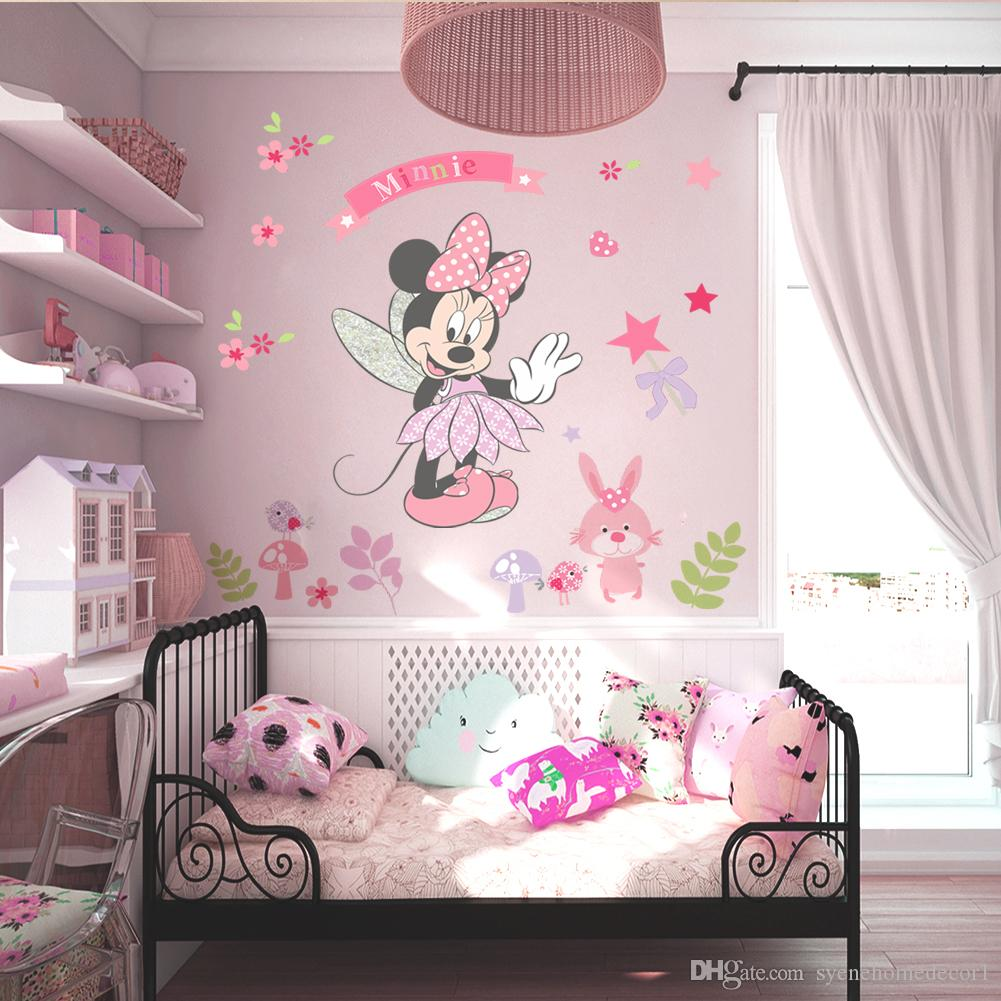Minnie mouse wall stickers gallery home wall decoration ideas minnie mouse wall stickers home design mickey minnie mouse cartoon wall stickers for kids room decorations amipublicfo Choice Image