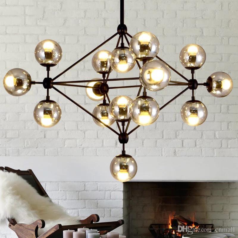 Hot Pendent Lights Modern Glass Chandeliers Jason Miller MODO ...