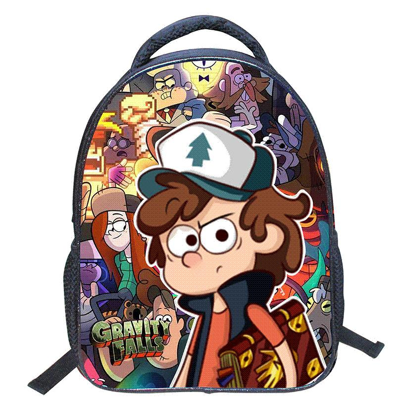 Gravity Falls Cartoon School Bags For Girls 2016 Kids Bag Children ...