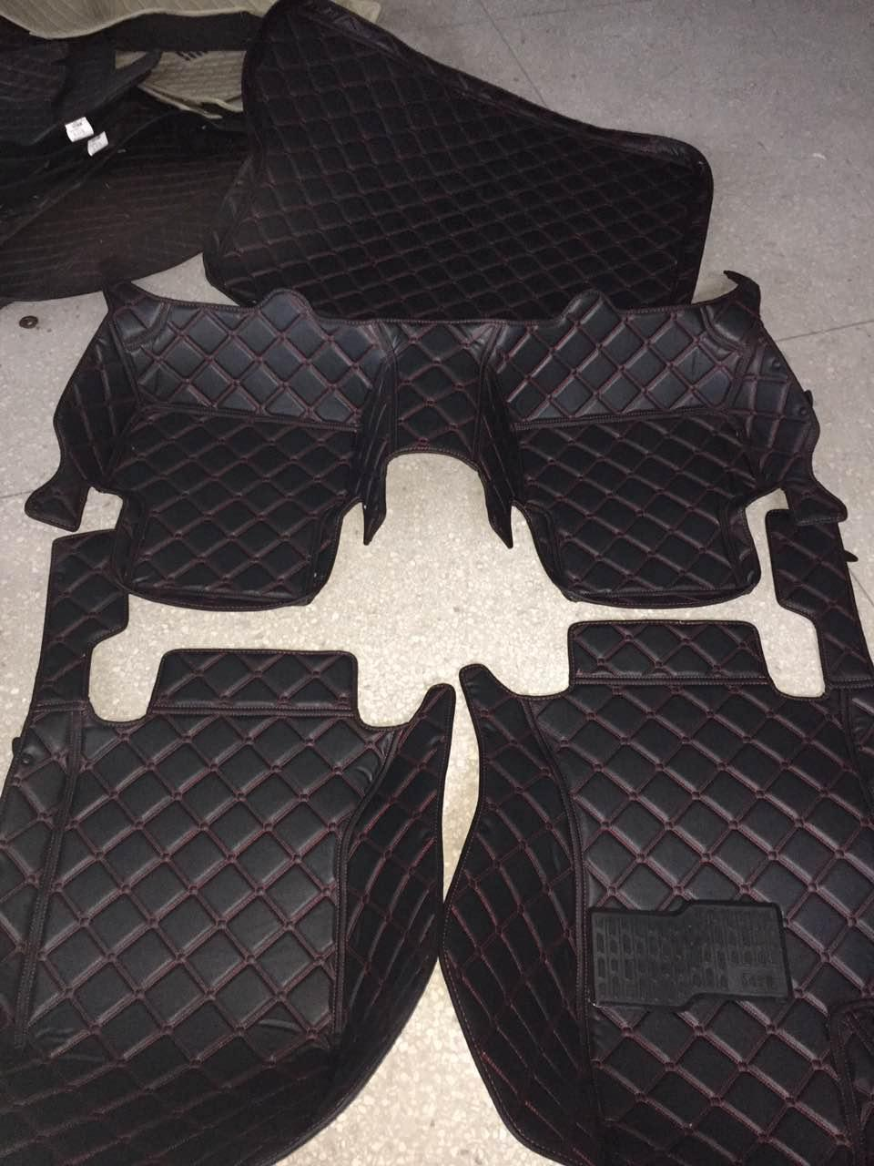 Floor mats mercedes - 5d Leather Xpe Car Floor Mats For Mercedes Benz Amg Cla 45 Shooting Brake Orangeart Edition