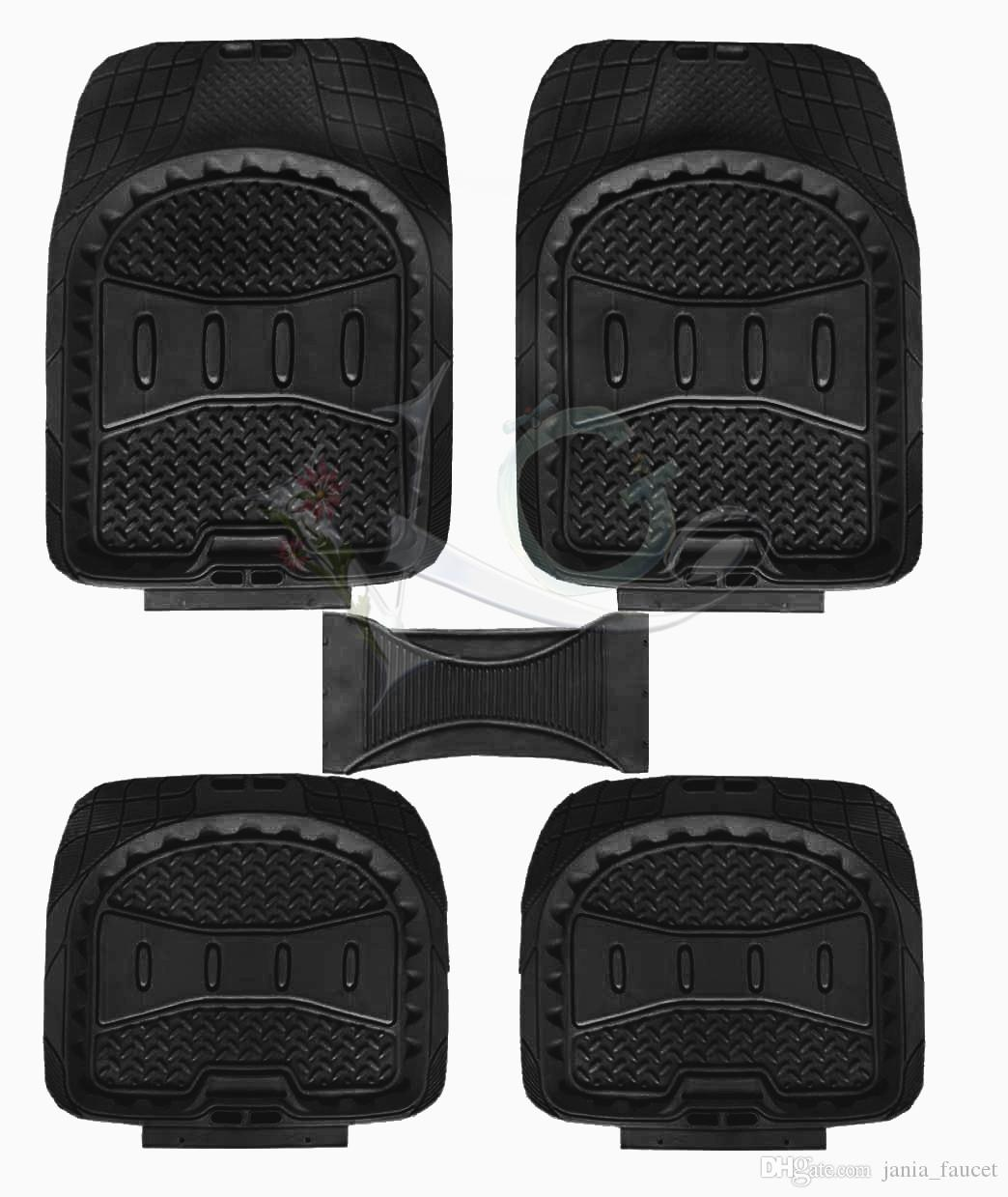 Floor mats super cheap - Cheap Pvc Plastic Pvc Car Mat Best Full Set 5pcs Car Floor Mat