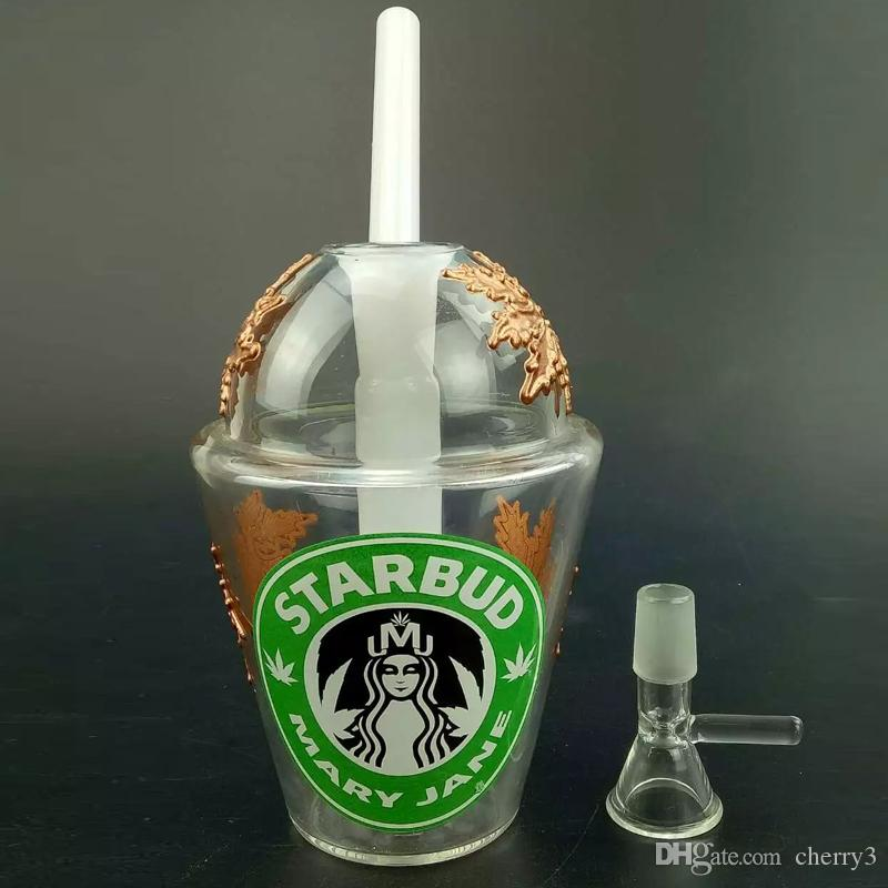 Top Cup Tobacco : Best selling glass bongs starbucks cup smoking