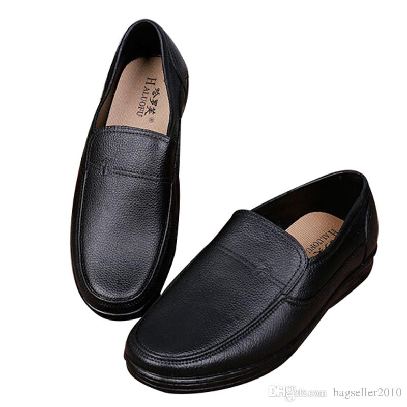 Hot Sales Men Kitchen Work Shoes Restaurant Chef Shoes Anti Skid Waterproof  Cook Comfy Loafers Black Size 39 44 TB0223 Mens Shoes Casual Shoes Men Shoes  ...