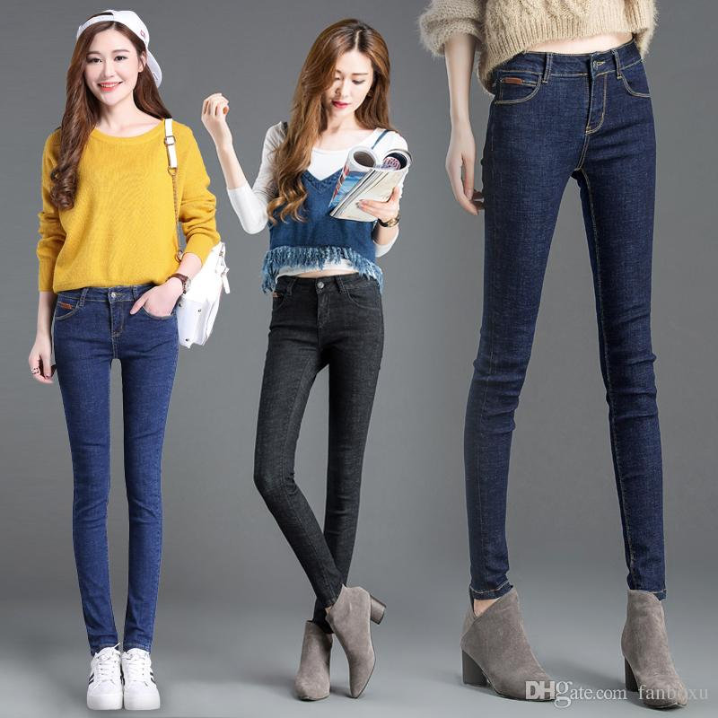 2017 Factory Direct Selling Jeans For Women/Cheap Women Ripped ...