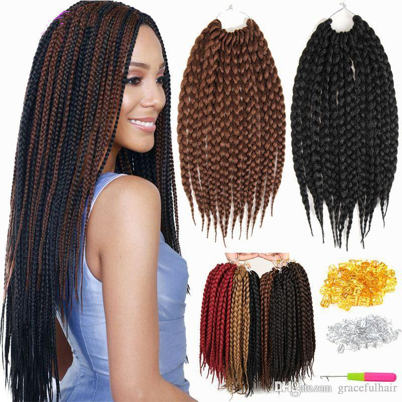 Crochet box braids synthetic hair bulks weave crochet braids box crochet box braids synthetic hair bulks weave crochet braids box braid havana mambo braiding hair extension human hair bulks for black women braiding hair pmusecretfo Image collections