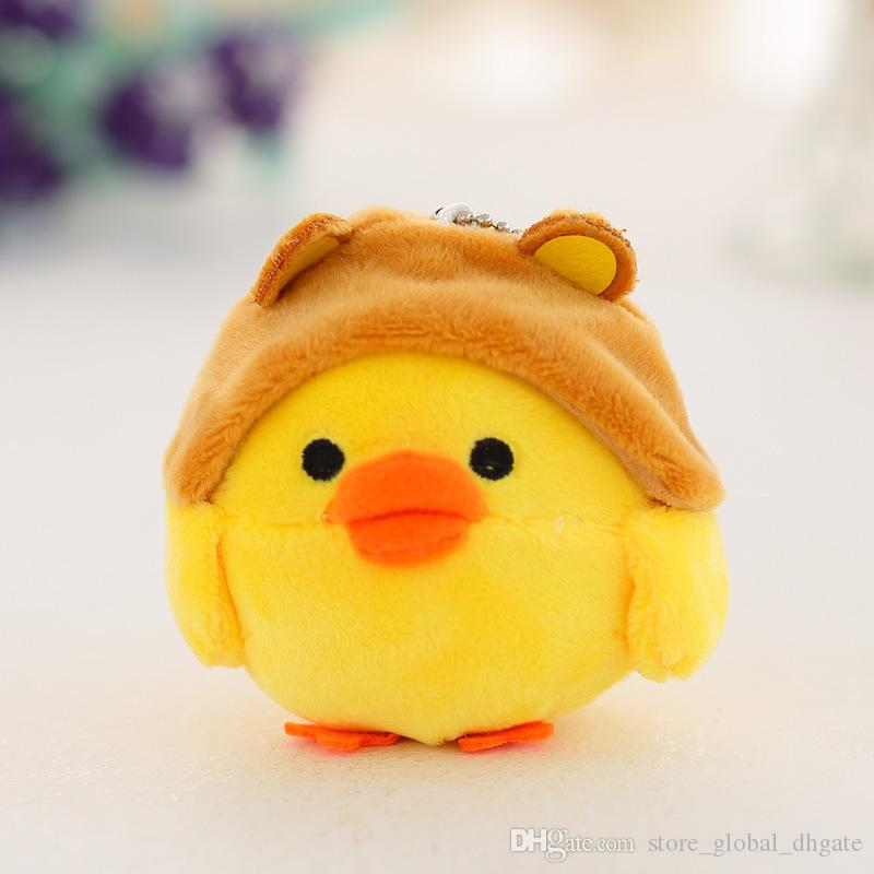 Squishy Fun Baby Chicken : 2017 10cm Super Soft Plush Stuffed Animals Little Cute Cute Small Toys Funny Baby Chicken ...