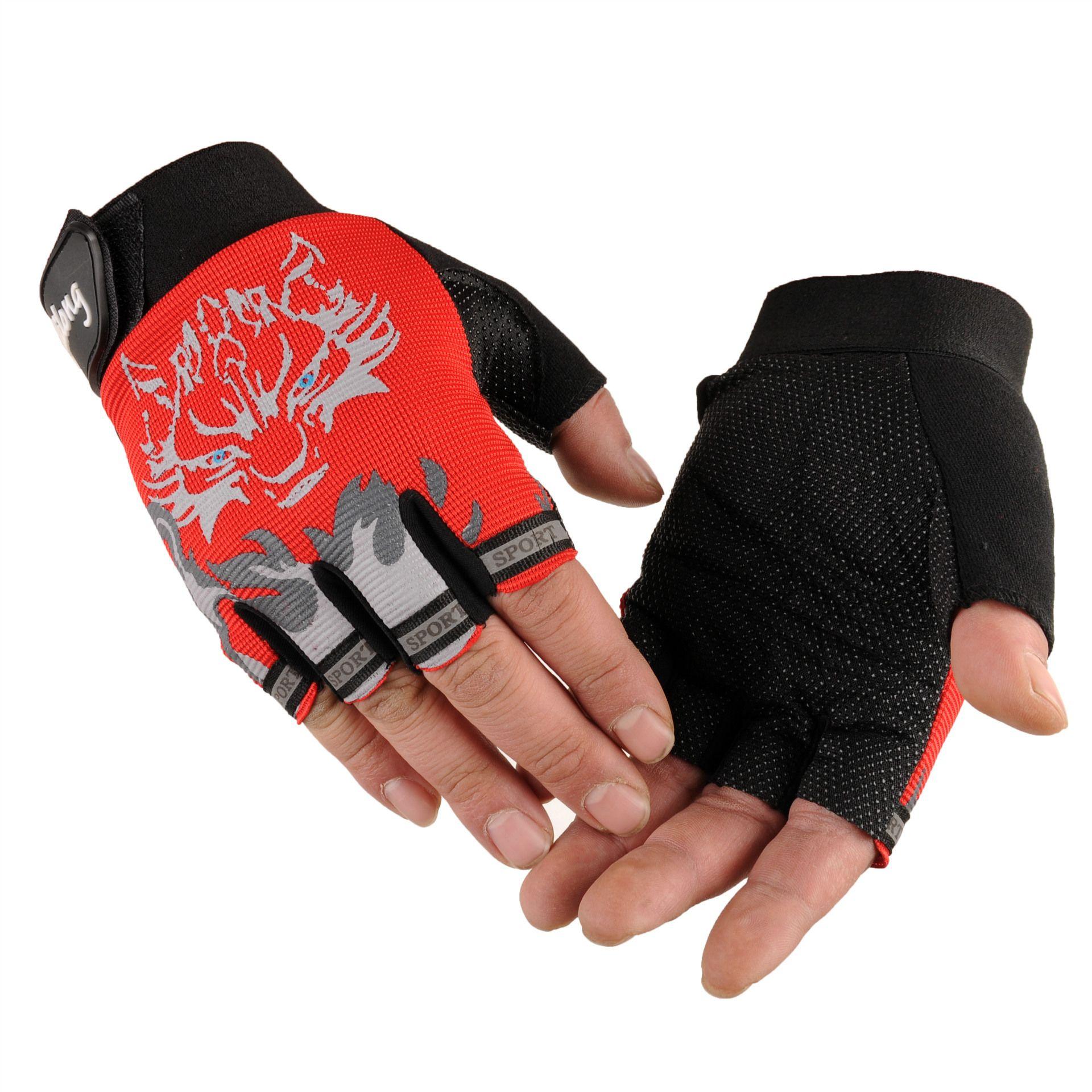 Fingerless gloves climbing - See Larger Image